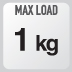 máxima carga de la bolsa XS319
