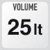volumen de la maleta XS306