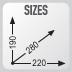 dimensiones de la bolsa deposito GIVI MT505